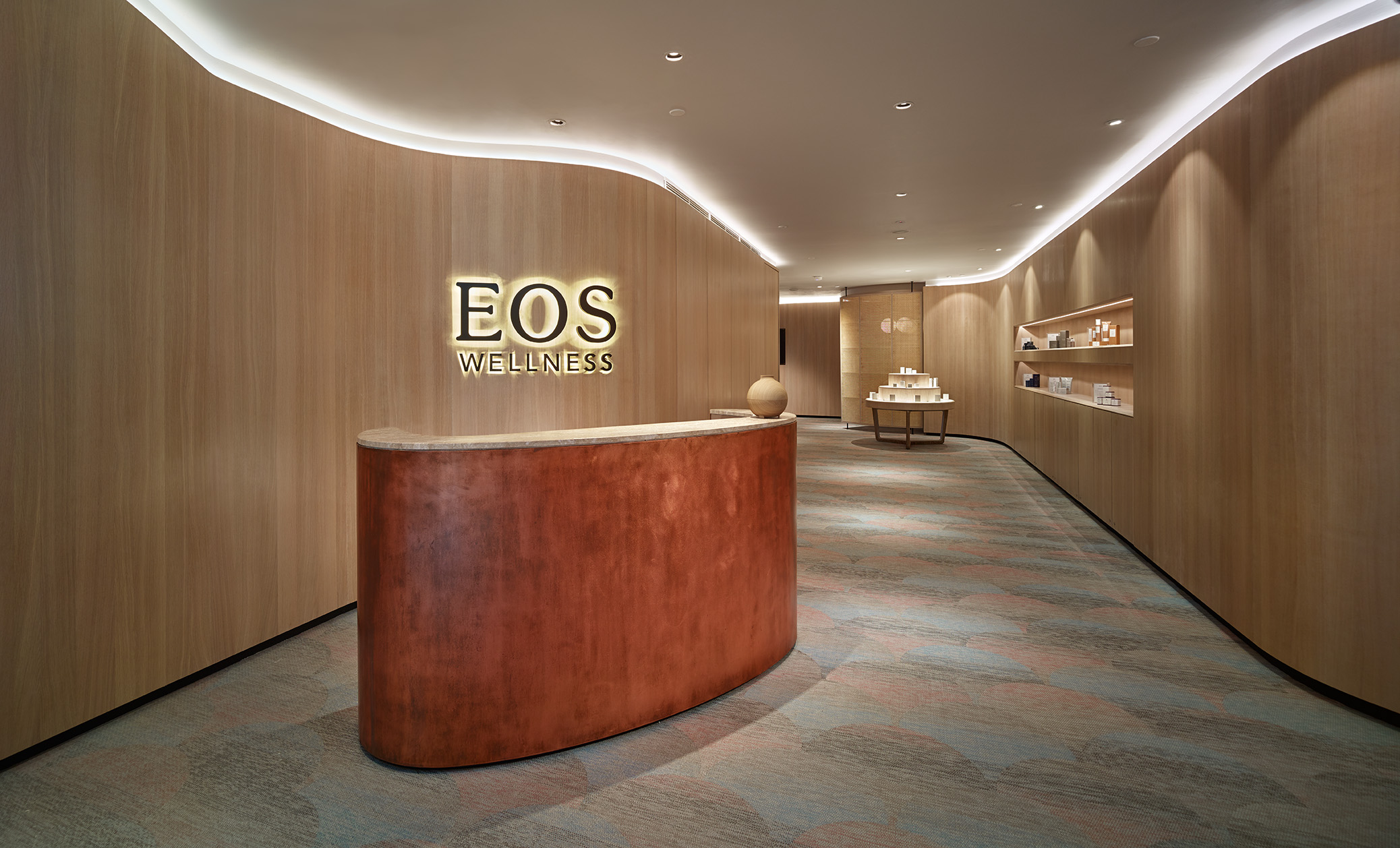 EOS Spa and Wellness Centre, Malaysia - Flow Stream and Coral