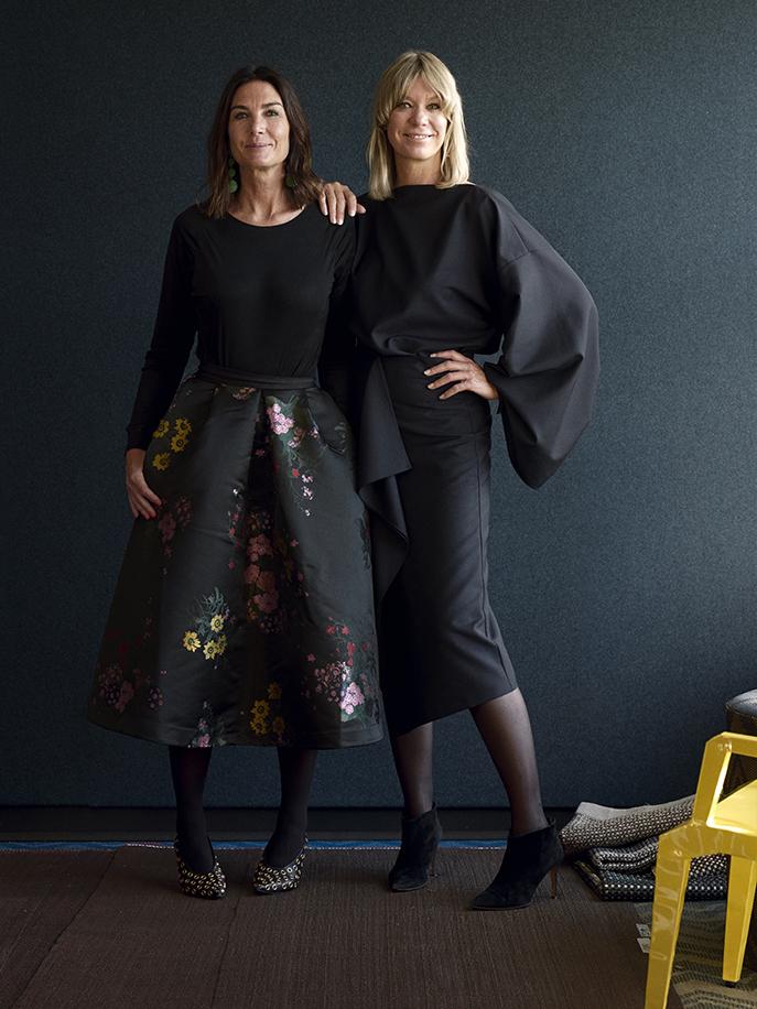 Annica and Marie Eklund