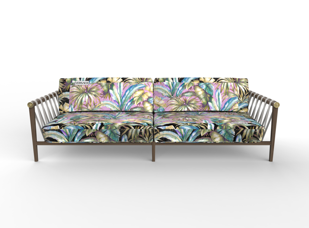 versace jungle sofa