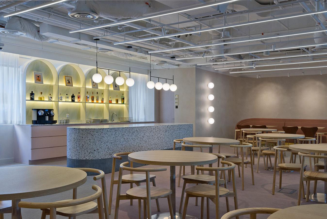 Cathay Organisation, Singapore - Elements Cork, Artisan Ecru, Quartz and Sienna